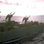 USS Canberra's Missles 1957