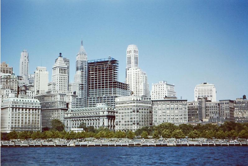 n-027 Wall Street - Battery Park