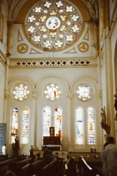 q-008 inside church