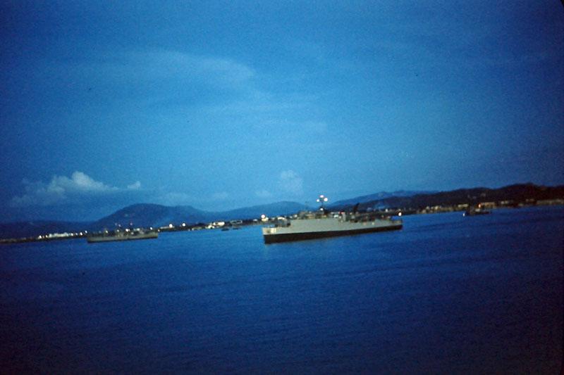 s-031 harbor at night
