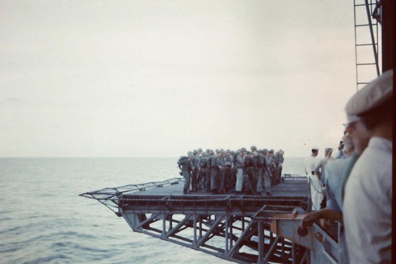 t-033 Marine landing party