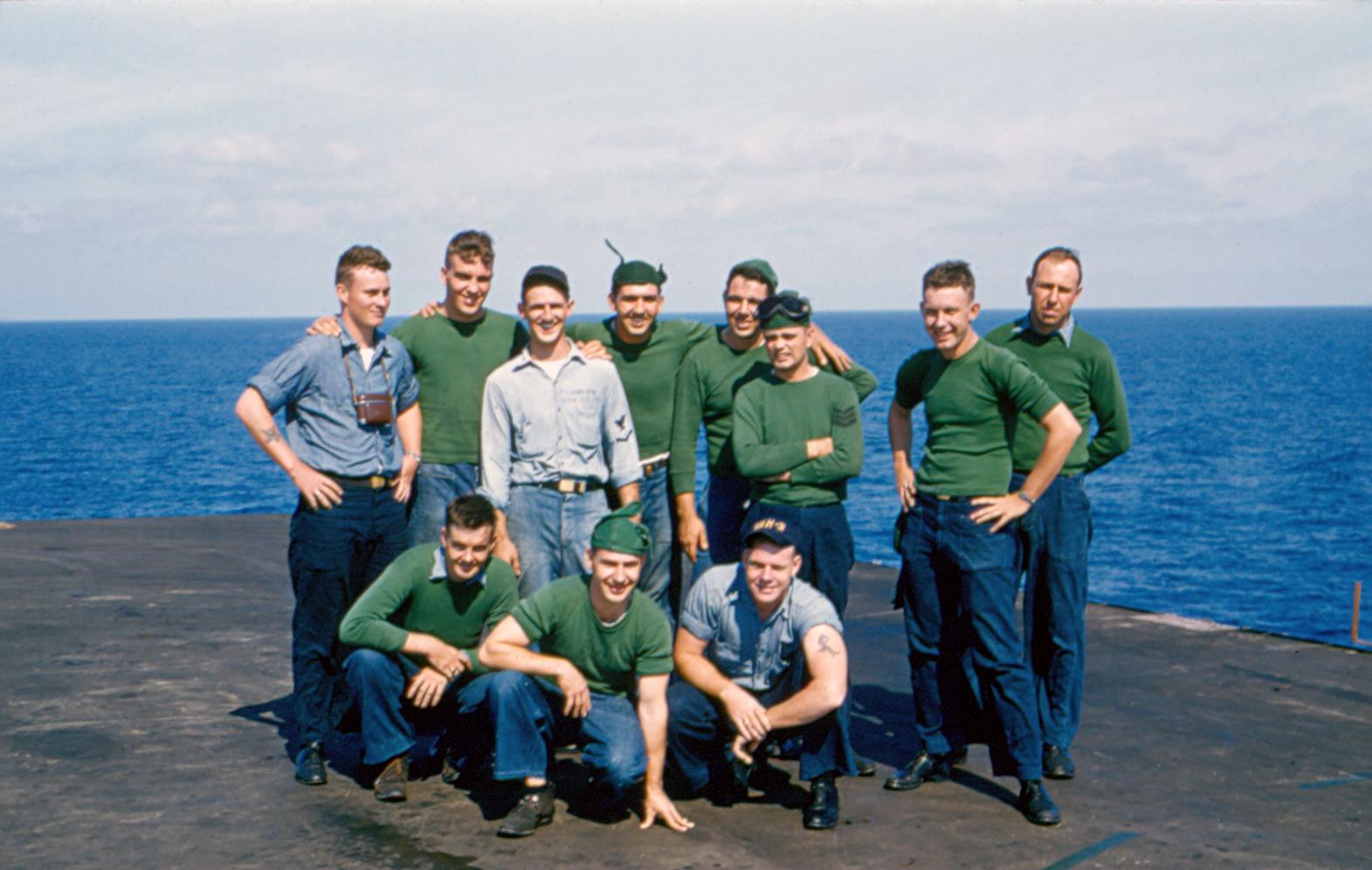 VAH-3,AQB  Shop. Men I shell never forget!