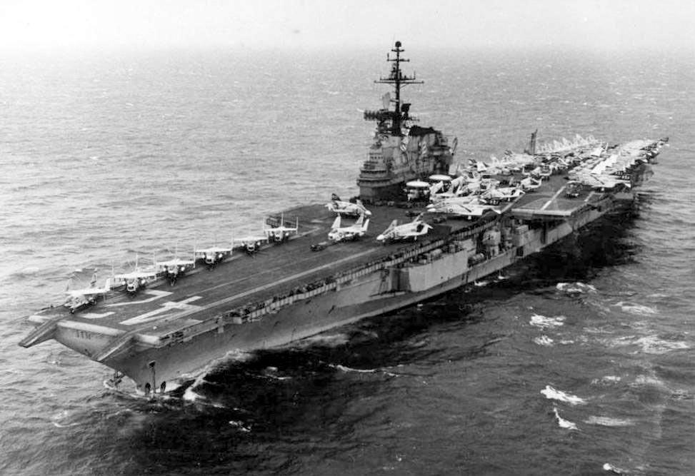 1976/77 John Wilson – USS Franklin D. Roosevelt